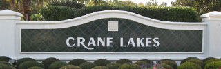 Crane Lakes Sign